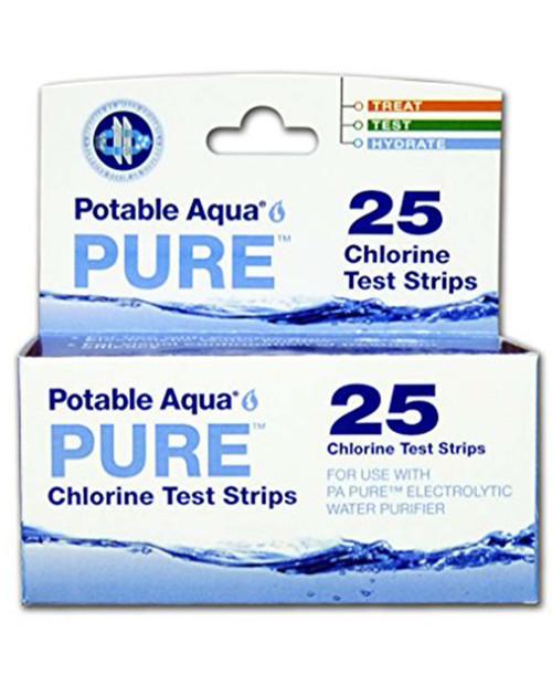 Potable Aqua Pure Test Strips 24ct