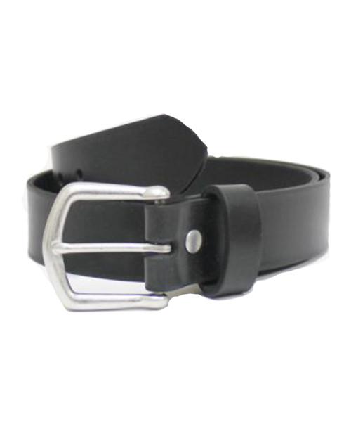 38MM Shackleton Leather Belt in Black