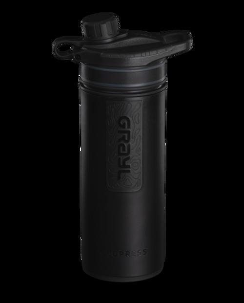 GRAYL 24oz GeoPress Purifier Bottle in Covert Black