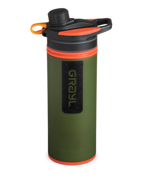 GRAYL 24oz GeoPress Purifier Bottle in Oasis Green