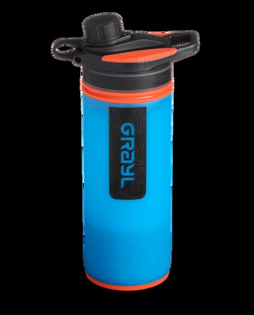 GRAYL 24oz GeoPress Purifier Bottle in Bali Blue