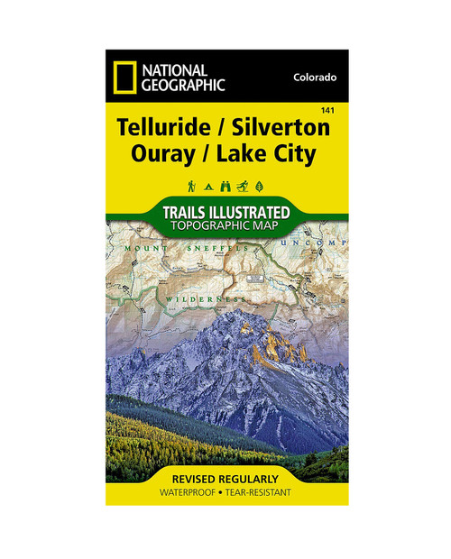 NATIONAL GEO MAPS Telluride Silverton Ouray #141 Colorado