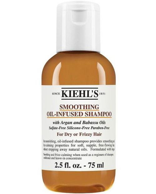 KIEHLS 75mL Smooth Oil Infused Shampoo Travel