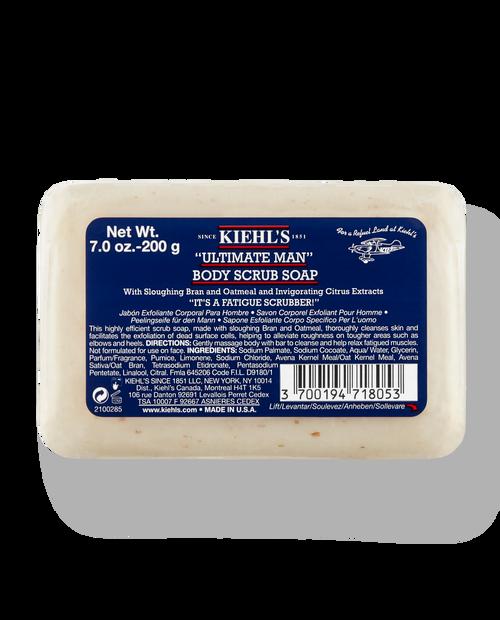 KIEHLS 7oz Ultimate Man Body Scrub Bar Soap