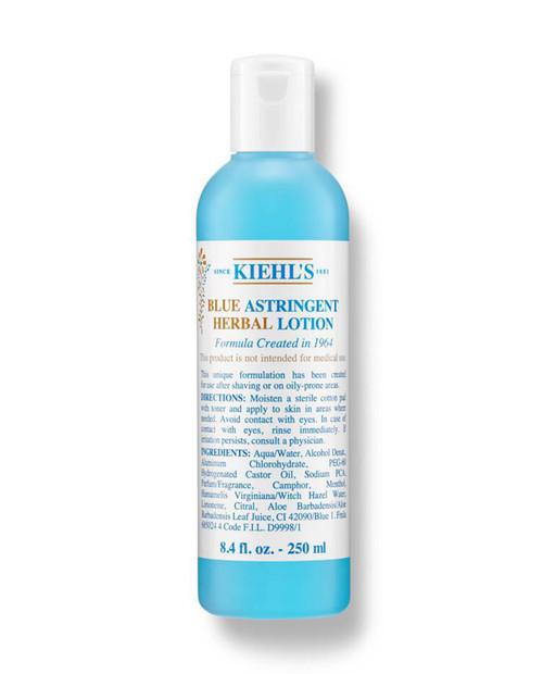 KIEHLS 8.4oz Blue Astringent Herbal Lotion