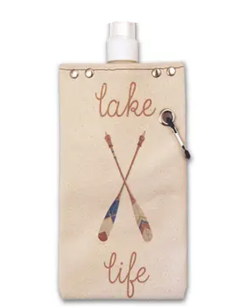 """Womens Tote+Able 25oz Canteen """"Paddle Lake"""""""