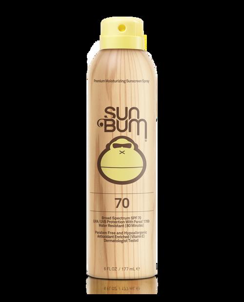 SUN BUM SPF 70+ Sunscreen Spray (6 oz)