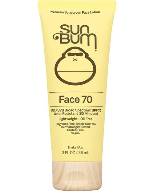 SUN BUM Face Lotion SPF 70 3oz