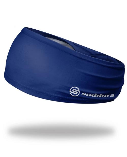 "Blue Headband 3.5"" Tapered"