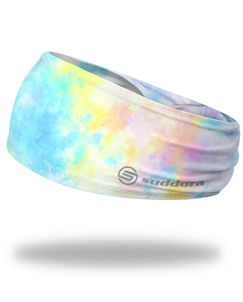 "Ice Tie-Dye Headband 3.5"" Tapered"