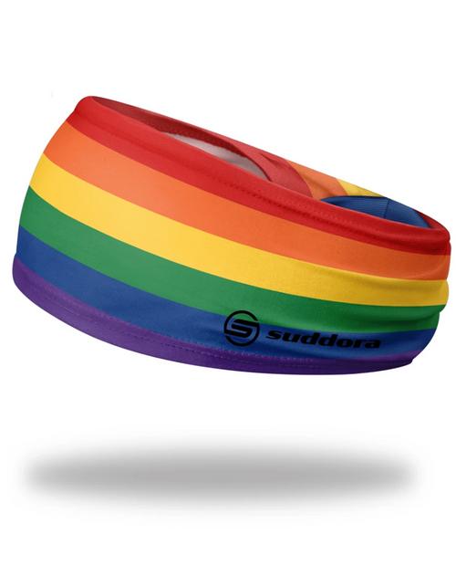 "Rainbow Headband 3.5"" Tapered"