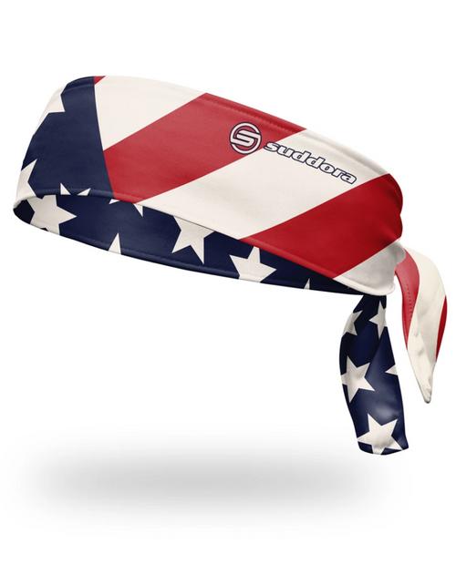 USA Patriot Tie Headband