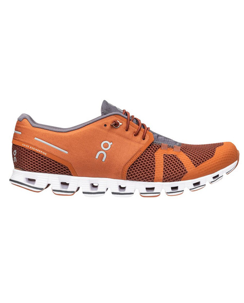 ON RUNNING Mens Cloud 2 in Russet / Cocoa