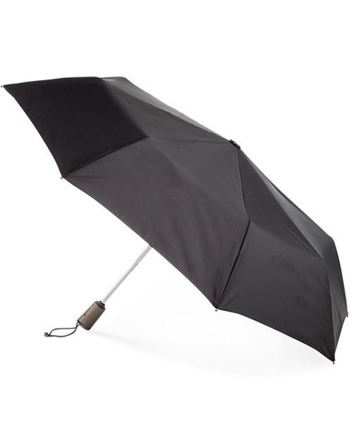 TOTES Titan Auto Open Close Compact Umbrella with NeverWet