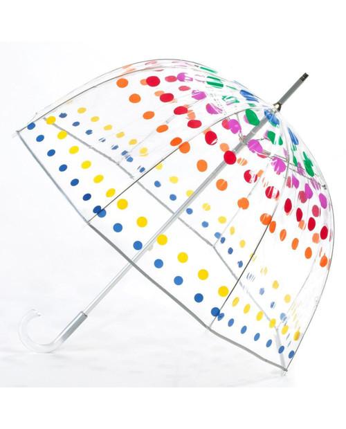 TOTES Signature Manual Clear Bubble Umbrella