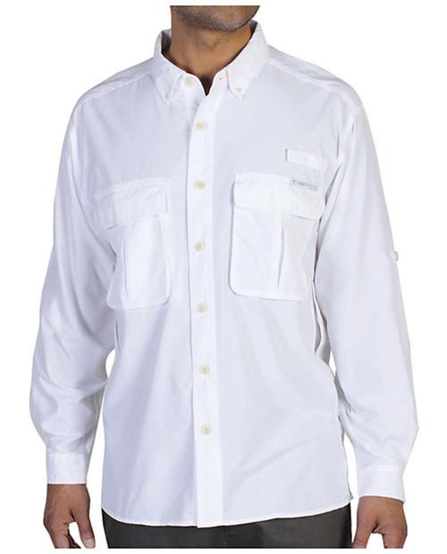 EX OFFICIO Mens Air Strip Long Sleeve Shirt