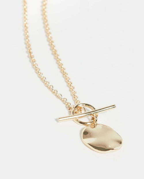 Womens Etoile Necklace in Gold