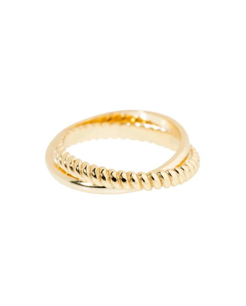 Womens Petra Ring in Gold