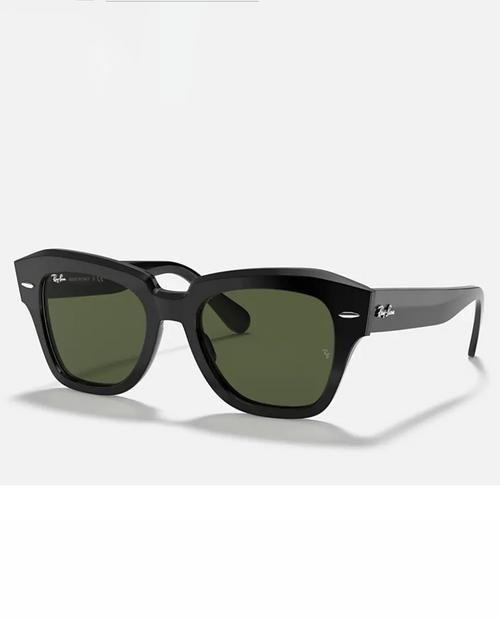 State Street Sunglasses in Black