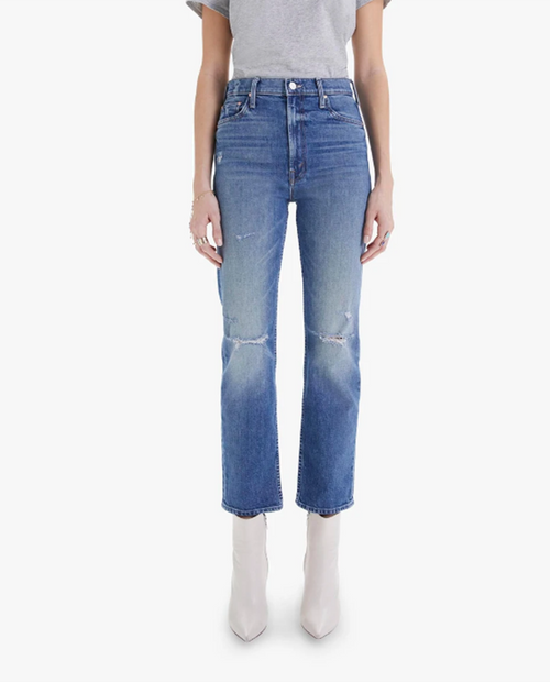 Womens High Waisted Rider Ankle in Far Beyond the Sky