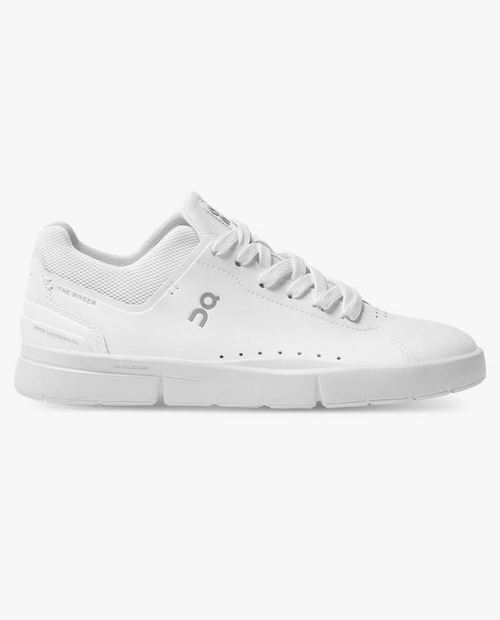 Womens Roger Advantage in  All White