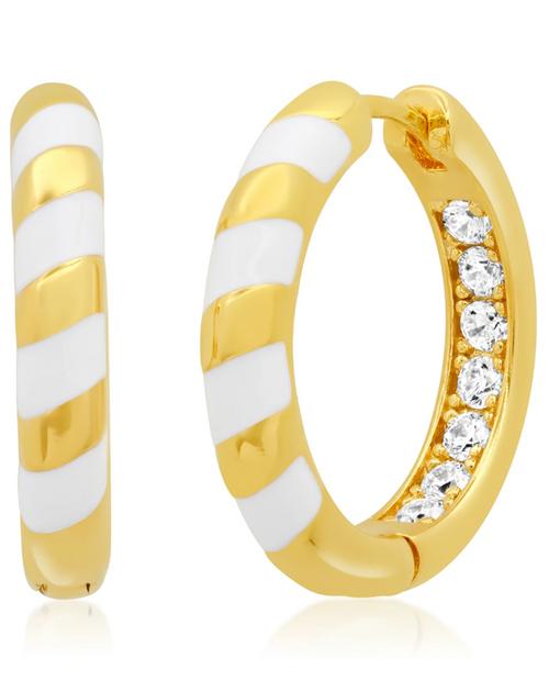 Womens Gold Hoop Earrings