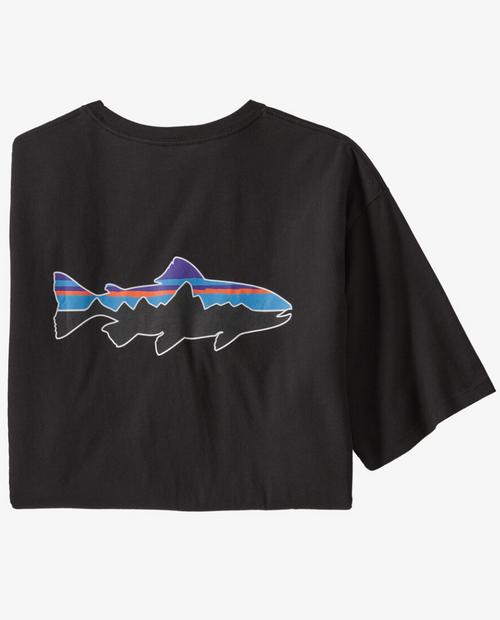 Mens Fitz Roy Fish Organic T-Shirt