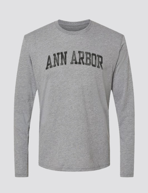 Ann Arbor Vintage Long Sleeve Crew