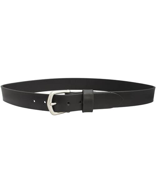 BISON DESIGNS 32mm Shackleton Leather Belt in Black