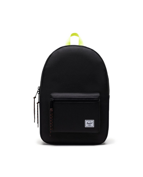 Settlement Backpack in Black/Safety Yellow