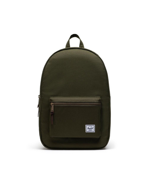 Settlement Backpack in Ivy Green/Chicory Coffee
