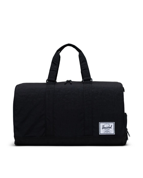 Novel Duffle in Black Enzyme Ripstop/Black/Safety Yellow