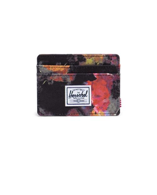 Charlie RFID Wallet in Watercolor Floral