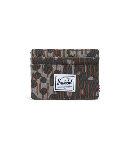 Charlie RFID Wallet in Green Pea Camo