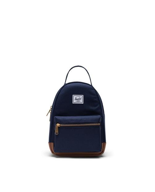 Nova Mini Backpack in Peacoat/Saddle