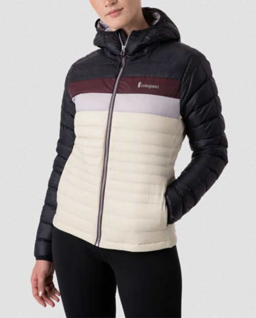 Womens Fuego Down Hooded Jacket