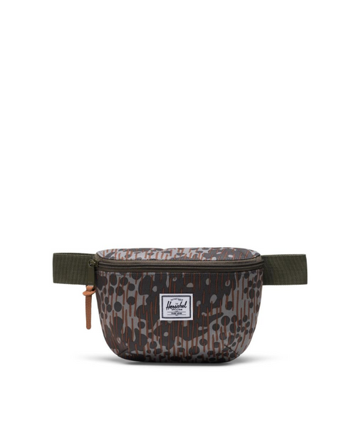 Fourteen Hip Pack in Green Pea Camo