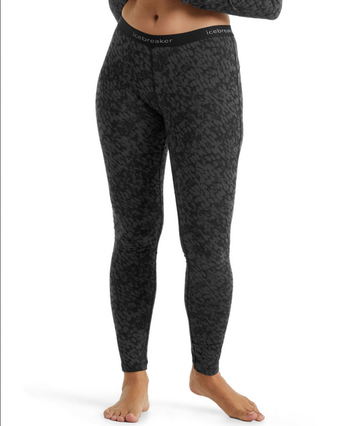 Womens 200 Oasis Leggings Forest Shadows