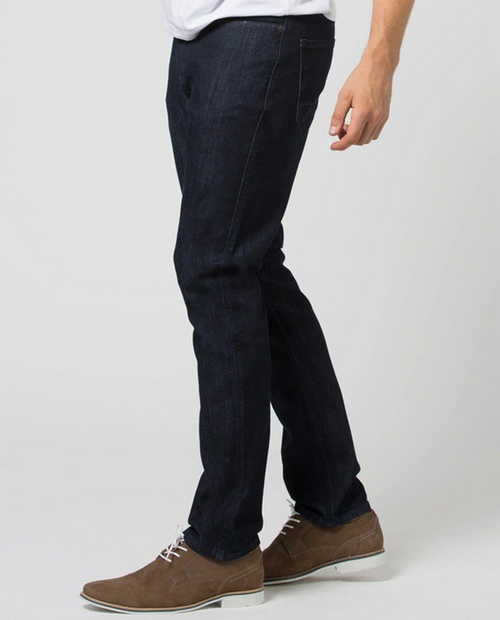 Mens Performance Denim Relaxed Taper in Rinse