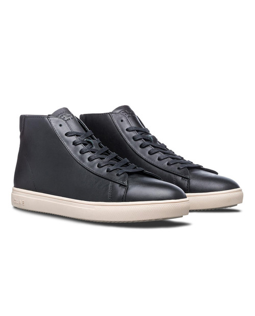 CLAE Unisex Bradley in Black Milled Leather