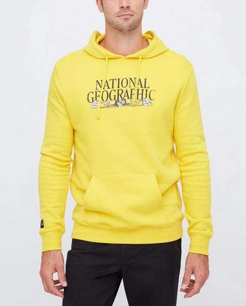 Mens National Geographic Logo Hoodie