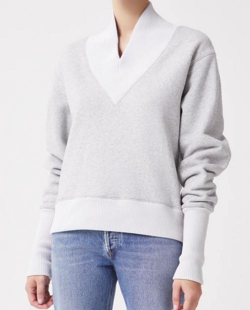 Womens Klara Sweatshirt in Grey Heather