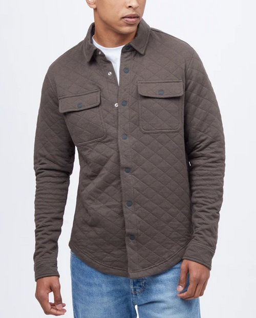Mens Colville Quilted Longsleeve Shirt
