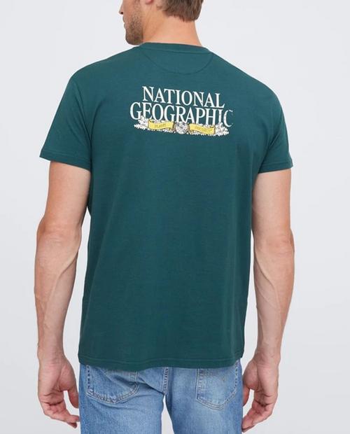 Unisex National Geographic Logo T-Shirt