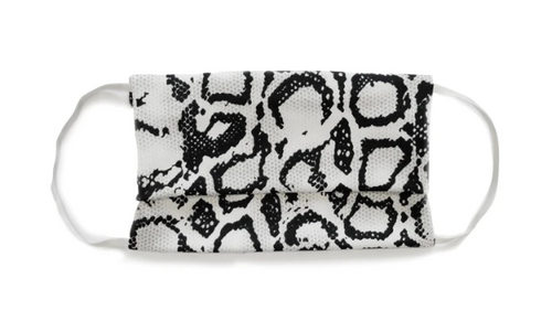 Print Facemask with Black/White/Snake (2-Pack)