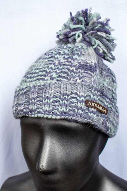 Multi Hat with Pom
