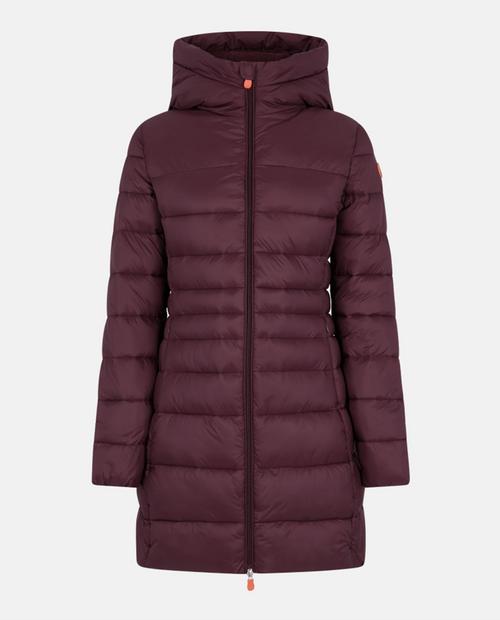 Womens Raven Hooded Coat