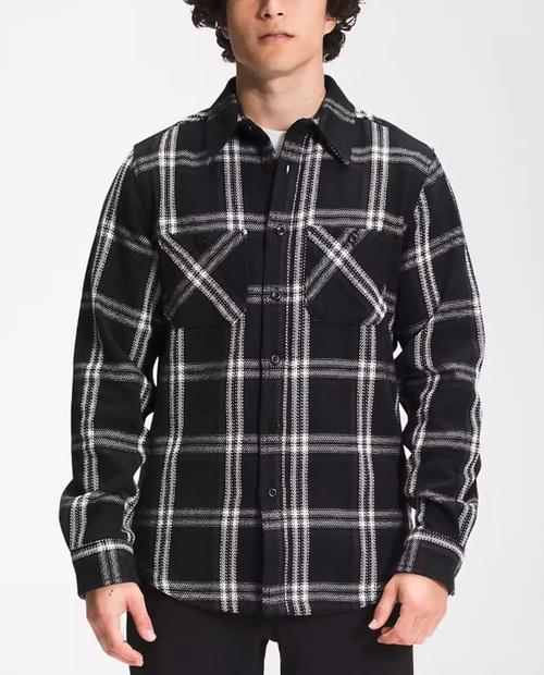 Mens Valley Twill Flannel Shirt