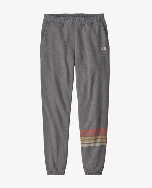 Mens Line Logo Ridge Stripe Uprisal Sweatpants