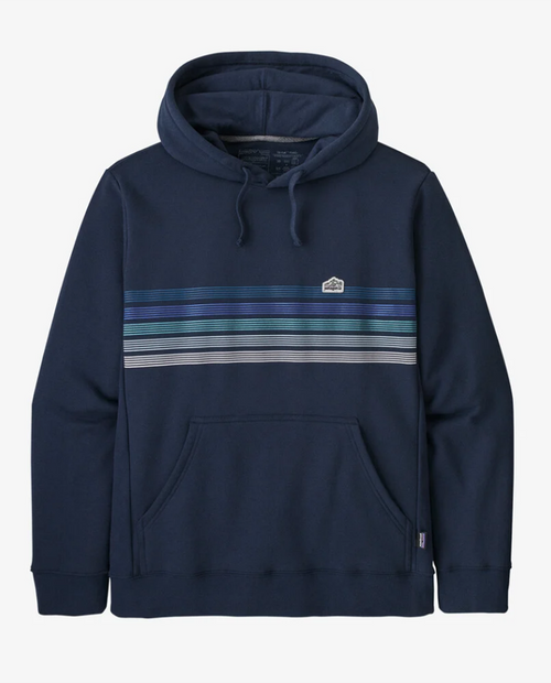 Mens Line Logo Ridge Stripe Uprisal Hoody